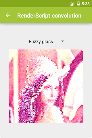 Fuzzy glass